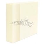 Graphic 45 - Staples - Mixed Media Album - Ivory