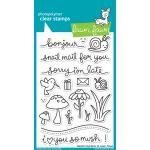 Lawn Fawn - Gleeful Gardens Stamp Set
