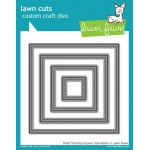 Lawn Fawn - Lawn Cuts - Small Stitched Square Stackables