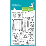 Lawn Fawn - Let's Play Stamp Set