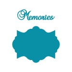Couture Creations - Intricutz - Kalini - Memories Tag Dies