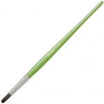 Princeton™ Sensu™ Green Portable Artist Brush: Green, Tablets, (model SENSU2GRN), price per each