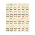 Advantus - Tim Holtz - Ideaology - Flash Cards Elementary