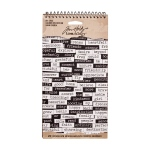 Advantus - Tim Holtz - Ideaology - Big Chat Sticker Book