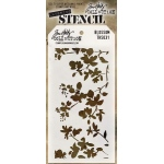 Stampers Anonymous - Tim Holtz - Stencil - Blossom