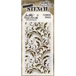 Stampers Anonymous - Tim Holtz - Stencil - Flourish