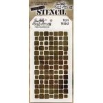 Stampers Anonymous - Tim Holtz - Stencil - Tiles