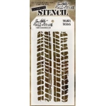 Stampers Anonymous - Tim Holtz - Stencil - Treads