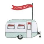 Sizzix - Framelits Die Set 13 Pack - Travel Trailer