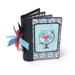 Sizzix - ScoreBoards XL Die - Book - Passport