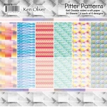 Ken Oliver - Pitter Patterns - Paper Pack - 6x6