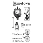 Ken Oliver - Hometown - Clear Stamps - Set 1