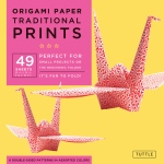 "Tuttle 8.25"" Origami Paper Traditional Prints; Format: Sheet; Size: 8 1/4""; Type: Origami; (model T838030), price per pack"