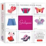 Tuttle Girligami Kit: Origami, (model T842709), price per kit