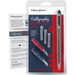 William Mitchell Calligraphy Starter Set; Nibs Included: Yes; Pen Holder: Yes; Tip Size: Assorted; Type: Pen Holder & Nib Sets; (model WM35903), price per set