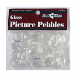 Judikins Picture Pebbles: Large Clear, 10
