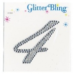 Making Memories Glitter Bling Monogram Script: 4