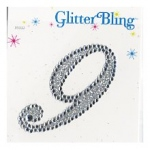 Making Memories Glitter Bling Monogram Script: 9