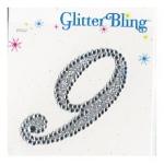 Making Memories Glitter Bling Monogram Script: 9