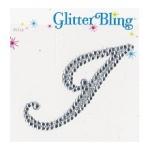 Making Memories Glitter Bling Monogram Script: I