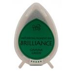 Tsukineko Brilliance Dew Drops: Gamma Green