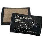 Tsukineko VersaMark Dazzle Shimmer Watermark Inkpads: Dazzle Champagne