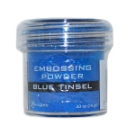 Ranger Specialty 1 Embossing Powders: Blue Tinsel