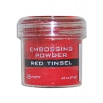 Ranger Specialty 1 Embossing Powders: Red Tinsel