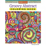Design Originals - Groovy Abstract Zentangle Coloring Book