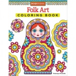 Design Originals - Folk Art Zentangle Coloring Book
