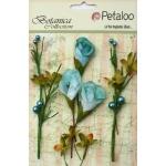 Petaloo - Calla Lilies & Berries  - Teal