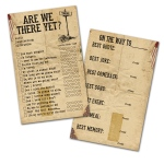 7Gypsies - Gypsy Moments Cards - Are We There Yet? - 3x5