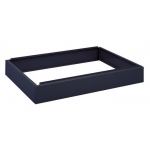 "Safco Steel Flat File: Closed Base, Black, 6"" x 46 3/8"" x 32 5/8"""