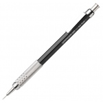 Pentel® GraphGear 500™ 0.5mm Automatic Drafting Pencil: Black/Gray, .5mm, Mechanical, (model PG525A), price per each