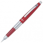 Pentel® Sharp Kerry™ Pencil Red; Lead Color: Black/Gray; Lead Size: .5mm; Type: Mechanical; (model P1035-B), price per each