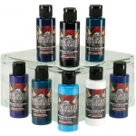 Wicked Colors™ Airbrush Paint Kent Lind Cool Beach Set 8-Color Set: Multi, Bottle, 2 oz, Airbrush, (model W114-00), price per set