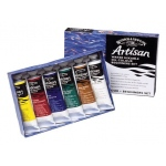Winsor & Newton™ Artisan Water Mixable Oil Color Beginners Set; Color: Multi; Format: Tube; Size: 37 ml; Type: Oil; (model 1590251), price per set