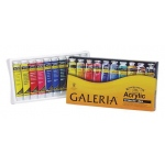 Winsor & Newton™ Galeria™ Acrylic 10-Color Set; Color: Multi; Format: Tube; Size: 20 ml; Type: Acrylic; (model 2190525), price per set