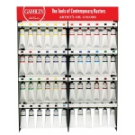 Gamblin 48-Color 150ml Artist Grade Oil Paint Display Assortment