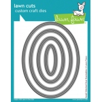 Lawn Fawn - Lawn Cuts - Small Stitched Oval Stackables Dies