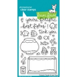 Lawn Fawn - Fintastic Friends Stamp Set