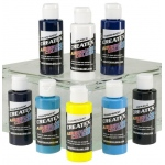 Createx™ Airbrush Kent Lid Cool 8-Color Set: Multi, Bottle, 2 oz, Airbrush, (model 5815-00), price per set
