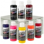 Createx™ Airbrush Kent Lid Warm 8-Color Set: Multi, Bottle, 2 oz, Airbrush, (model 5816-00), price per set