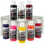 Createx™ Airbrush Kent Lid Warm 8-Color Set: Multi, Bottle, 2 oz, Airbrush, (model 5816-00), price per set