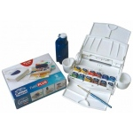 Winsor & Newton™ Cotman™ Watercolor Field Plus Set: Multi, Pan, Watercolor, (model 0390374), price per set