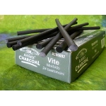 Winsor & Newton Artists' Vine Charcoal Set: Soft, Box of 24