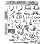 Stampers Anonymous - Tim Holtz - Crazy Things Stamp Set