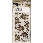 Stampers Anonymous - Tim Holtz - Stencil - Poinsettia