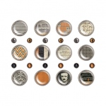 Advantus - Tim Holtz - Ideaology - Fasteners - Regions Beyond