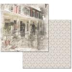 Ken Oliver - Hometown Cottage - Front Porch 12x12 Paper